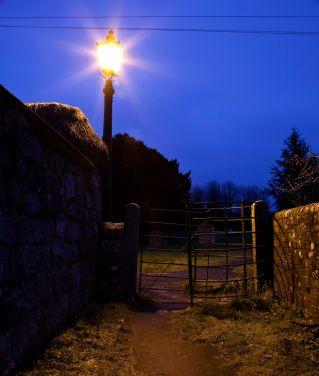 Remote Lighting Using 12V Fluorescent OnSolar lamps
