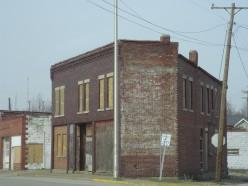 Rundown Town - Bicknell, Indiana, U.S.A.