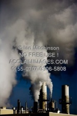 Factory Chimney- this is what air pollution looks like.