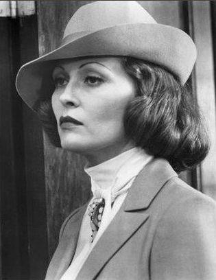 Faye Dunaway as Evelyn Mulwray