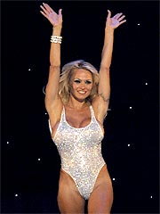 Pamela Anderson As A Las Vegas Showgirl