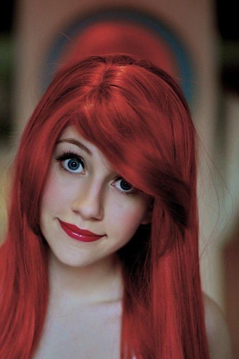 Ariel makeup.