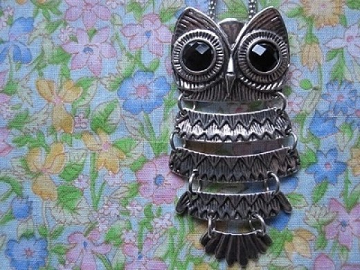 owl necklace inspiration