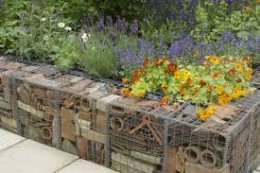 Claire Whitehouse has created a beautiful hibernaculum for her 2005 'The Real Rubbish' garden Photo credit and more info: http://tinyurl.com/p5lwsfq