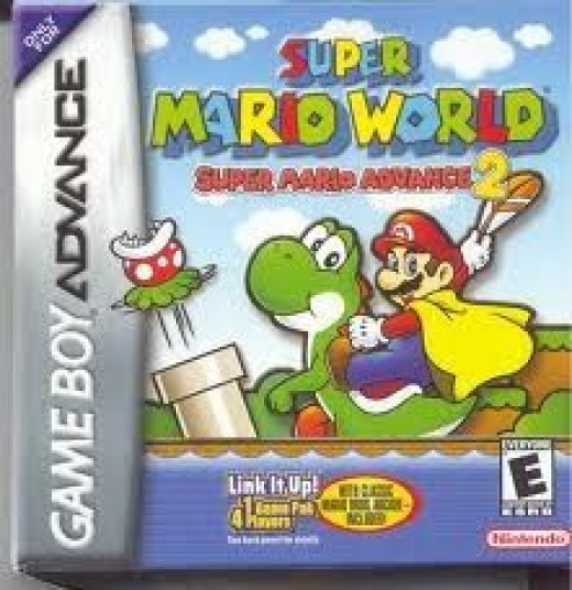 The GBA Version Boxart