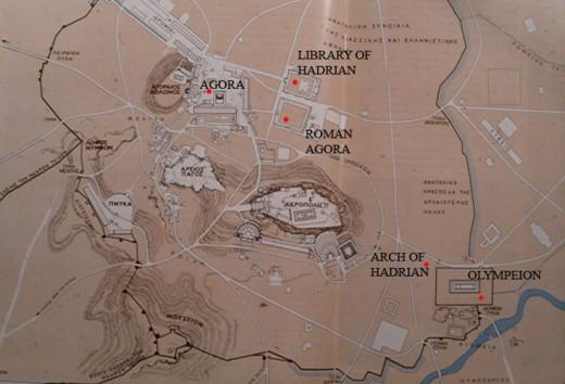 Source: http://cnes.cla.umn.edu/courses/archaeology/Athens/images/RomanAthensMap.jpg