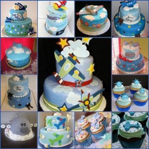 Airplane Baby Shower Cake Pics