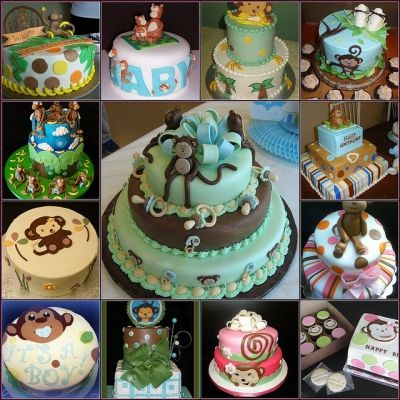 Monkey Baby Shower Cake Pics