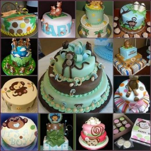 Monkey Baby Shower Cake Pics