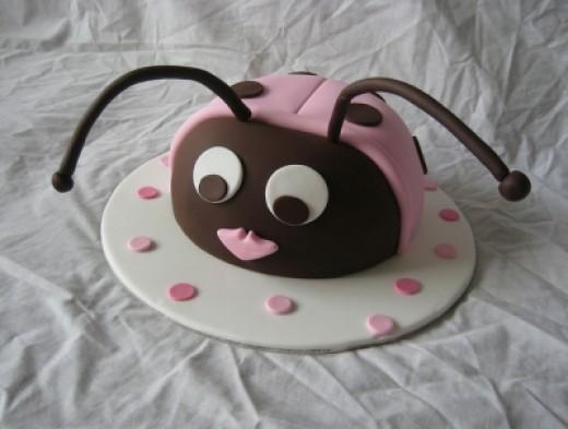 Lady Bug Baby Shower Cake Pic