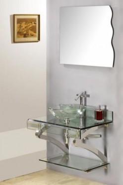 a new vessel sink vanity makes remodeling your bathroom even easier