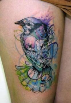 Prettiest Bird Tattoos for Girls