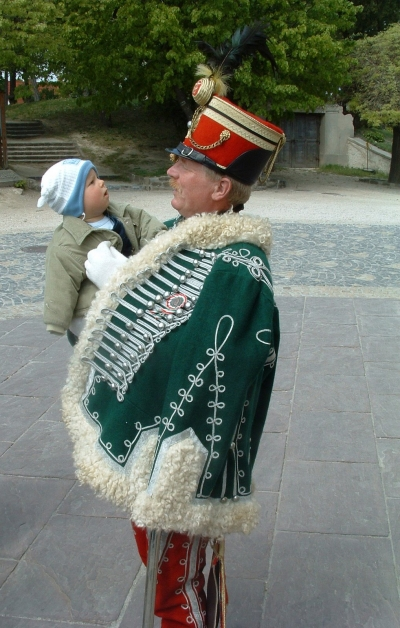 Richly decorated Hussar Uniform