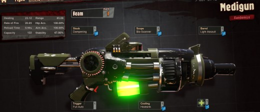 Medigun in Loadout