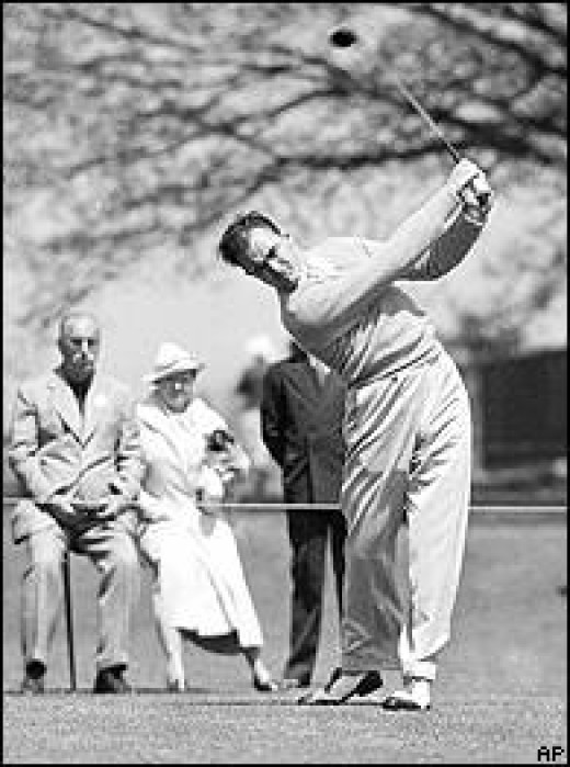 Sam Snead Was The First To Given A Green Jacket After Winning The Masters.