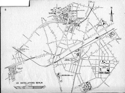 Maps of Locations in Berlin Brigade