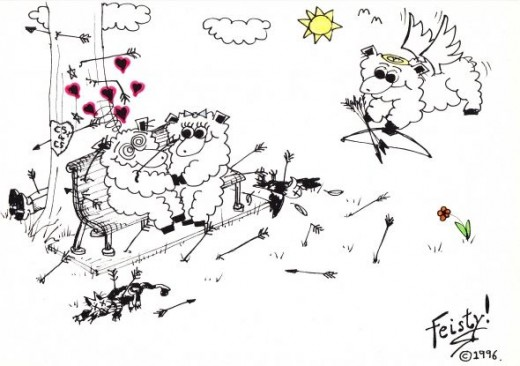 Cecil the Sheep cartoon