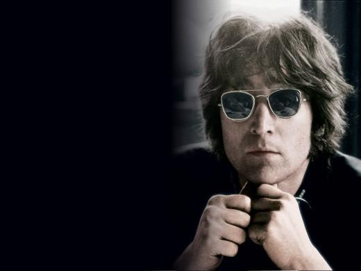 * R.I.P. John Winston Lennon ( 9th Oct. 1940-8th Dec. 1980 ). *