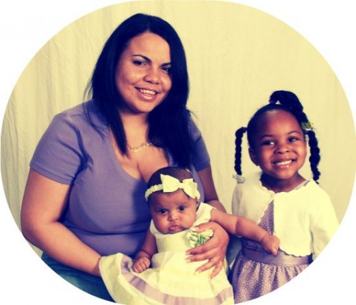 My girls and I
