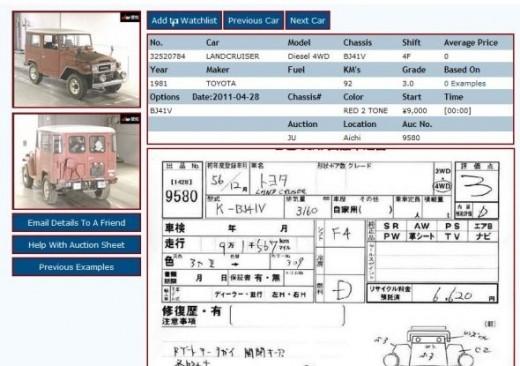 1981 Toyota Landcruiser Diesel