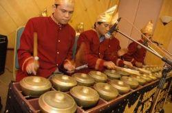 Talempong instrument from Minangkabau, West Sumatra
