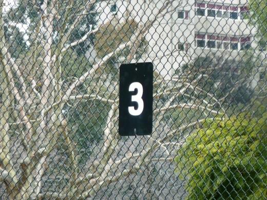 Prahran tennis court.