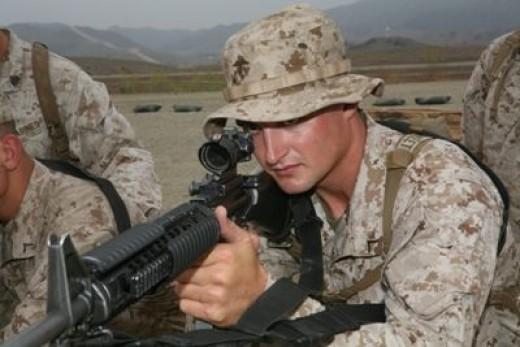 Marine Rifleman, Infantry