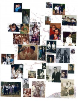 "Heritage page to save putting too many added photos and ""fanning"" book"