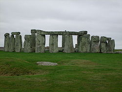 Stonehenge Made of blue stones from the Presceli Hills in Wales