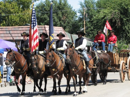 Calvary Horses From Fort Riley - 2011 Labor Day Parade