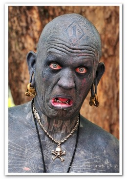 Lucky Diamond Rich - The world's most tattooed man!