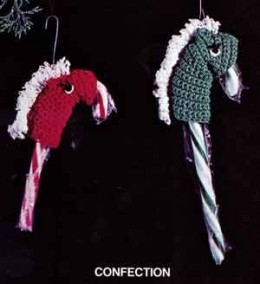 Candy Cane Horse FREE Crochet Pattern