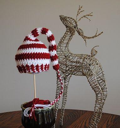 Trendy Elf Hat FREE crochet pattern