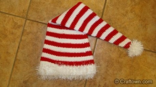 Candy Cane Patterns Free Candy Cane Hat Free Crochet