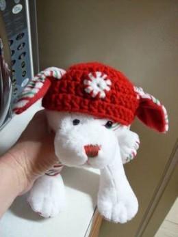 Stuffed Animal Hat FREE crochet pattern