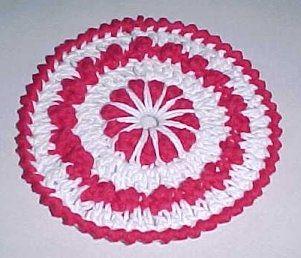 Christmas Hotpad FREE crochet pattern
