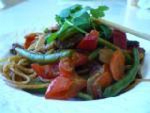 Delicious Kung Pao Noodles