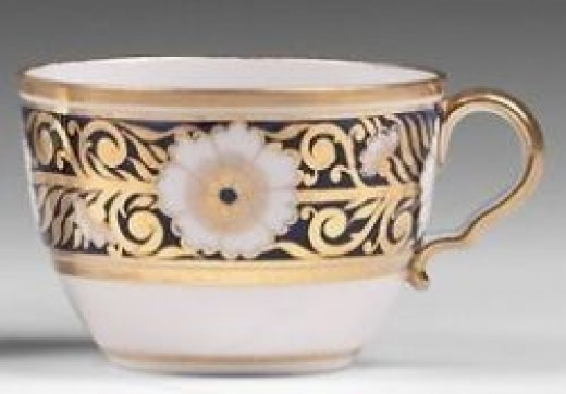 Early 19th C. Spode Porcelain Bute cup