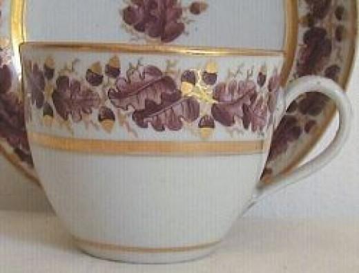 New Hall bute shape cup C1800 © RubyLane