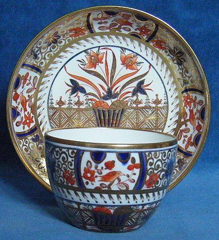 Spode Bute Shape Imari Cup and Saucer c.1810