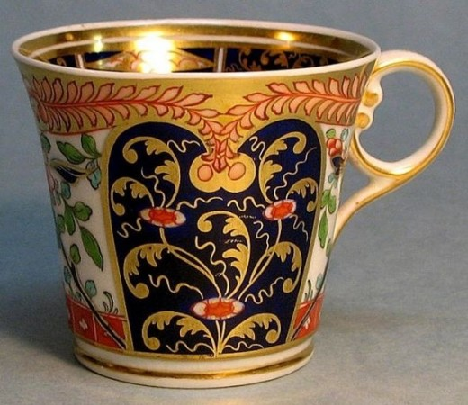 "English ""Japan"" Pattern Baden shape Coffee Cup ca. 1815"