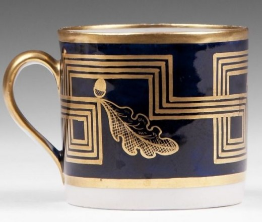 New Hall Coffee Can 1805, Pattern 538