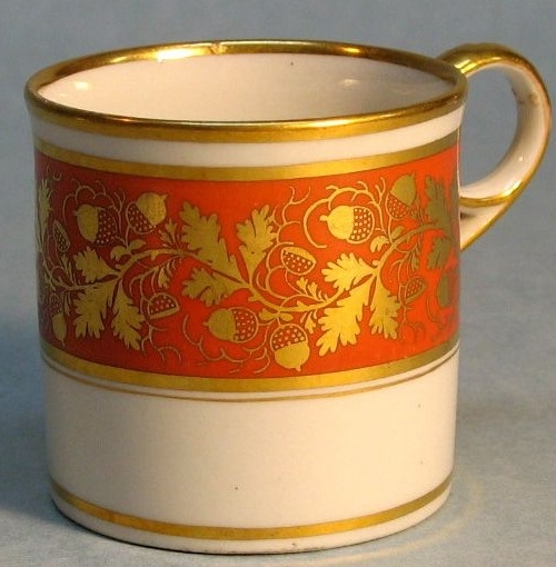 Worcester (Barr) Coffee Can c1805