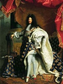 King Louis the XIV of France