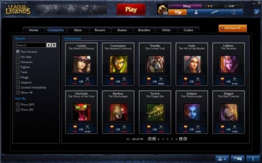 Look at all those champions