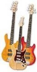 G&L Tribute Series Guitars and basses