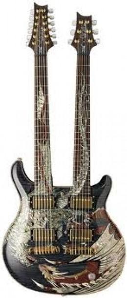 PRS Double Neck Dragon 12 & 6 String Guitar
