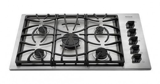 Frigidaire's 5-sealed burner gas cooktop.  Click for more info!