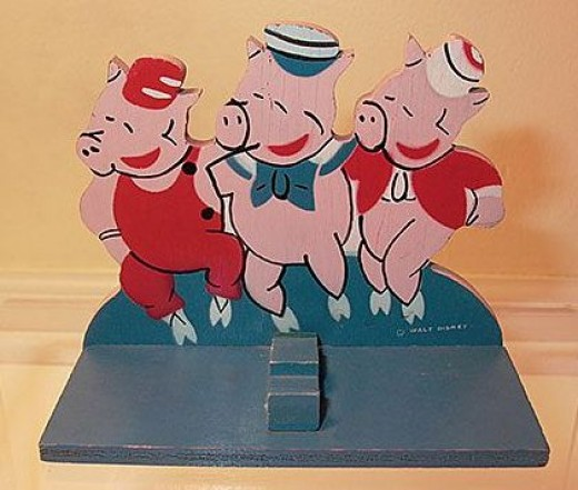 Walt Disney The Three Little Pigs
