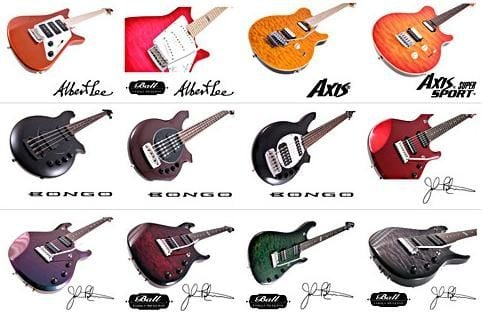 Newer Music Man  Guitar models